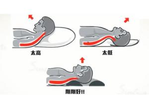 躺姿勢整頭正確位置