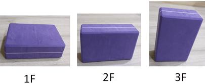 1.2.3 F yoga block