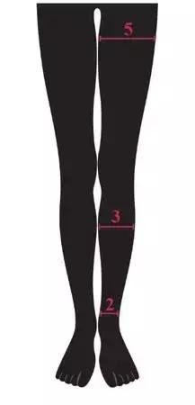 Ideal-leg-circumference